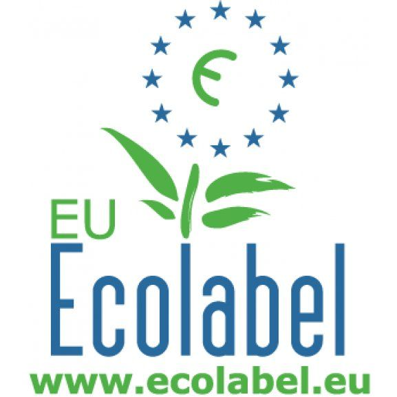 Logo of Eco Label -  The EU Ecolabel helps you identify products and services that have a reduced environmental impact throughout their life cycle, from the extraction of raw material through to production, use and disposal. Recognised throughout Europe, EU Ecolabel is a voluntary label promoting environmental excellence which can be trusted.