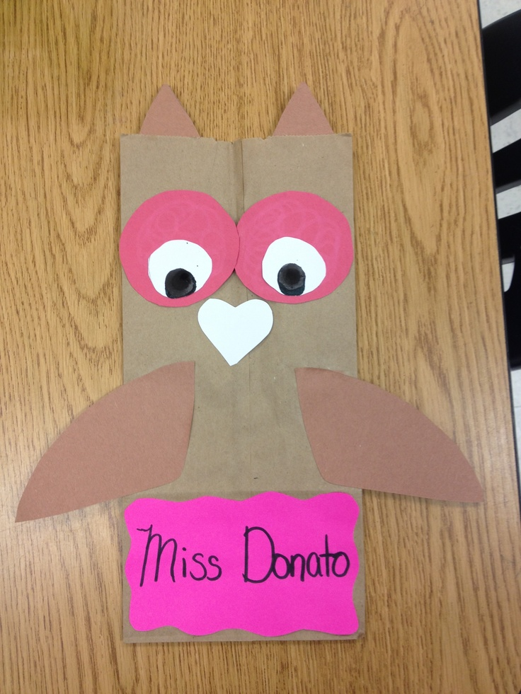 owl valentine s day bags february pinterest owl