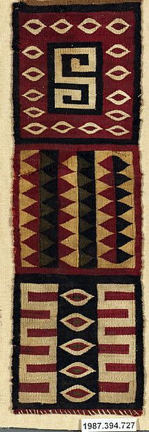 Band Fragment from Peru, 15th-16th c. Inca culture