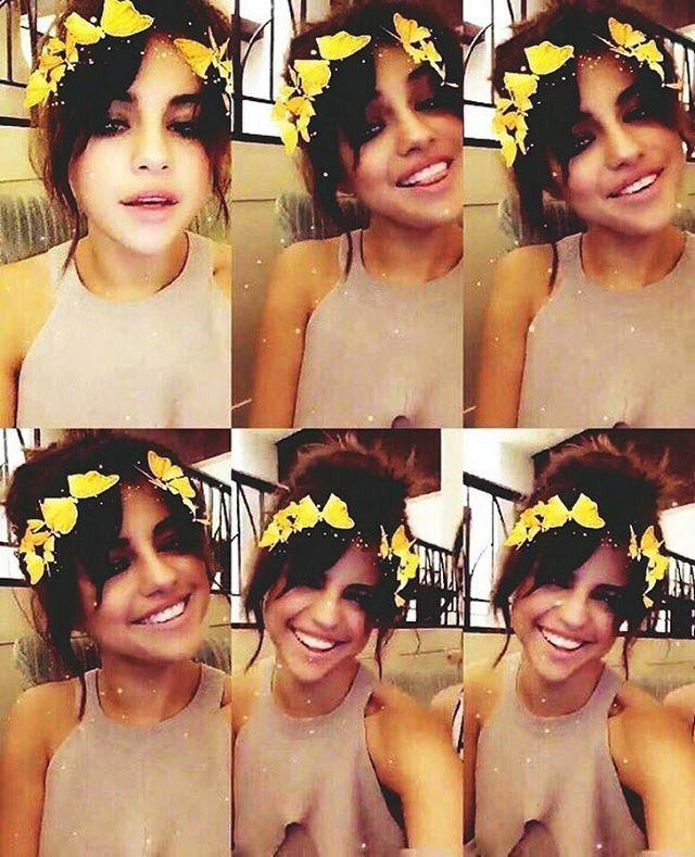Selena Gomez   Snapchatelena