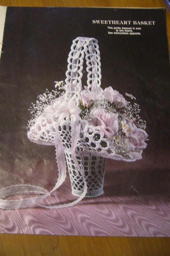 Vintage 1980s Victorian Crochet