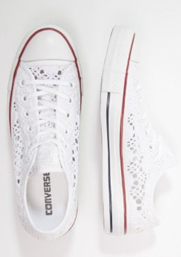 converse broderie anglaise