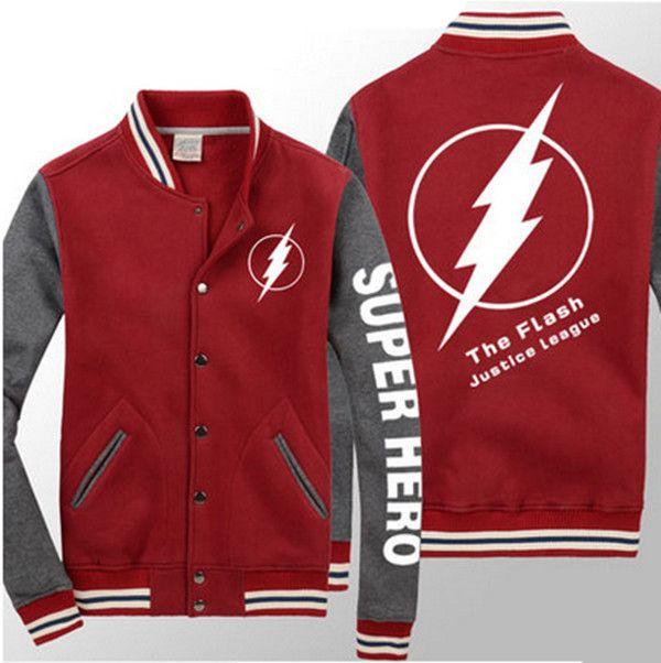 The Flash best baseball jackets for men long sleeve super ...
