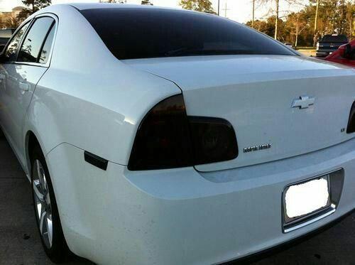 Chevy Malibu tinted tail lights