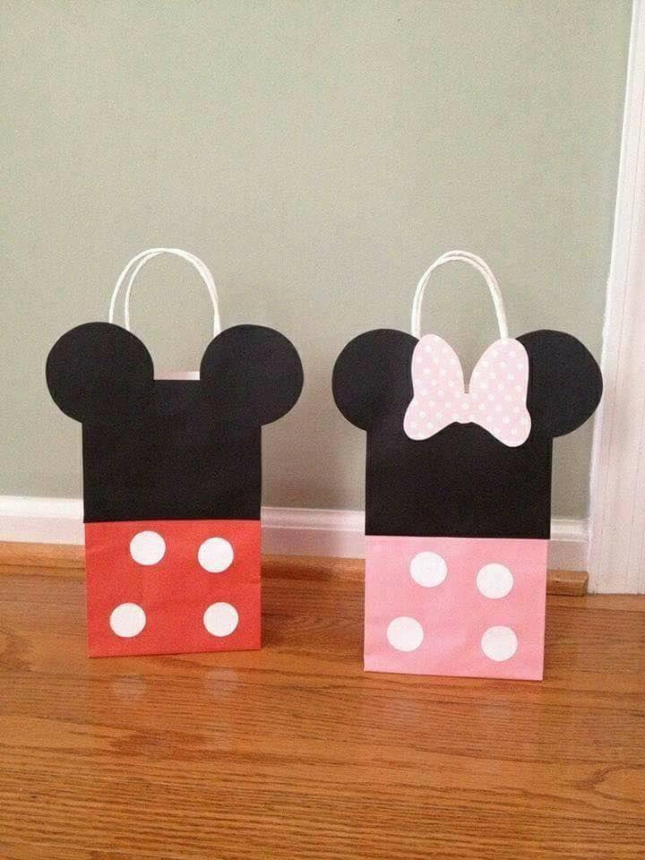 Dulceros económicos de Mickey Mouse para fiestas -