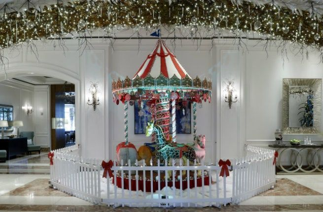 This Life-Size Carousel is Made Entirely out of Gingerbread:http://www.fodors.com/world/north-america/usa/florida/the-tampa-bay-area/sarasota/experiences/news/this-life-size-carousel-is-made-entirely-out-of-gingerbread-12233
