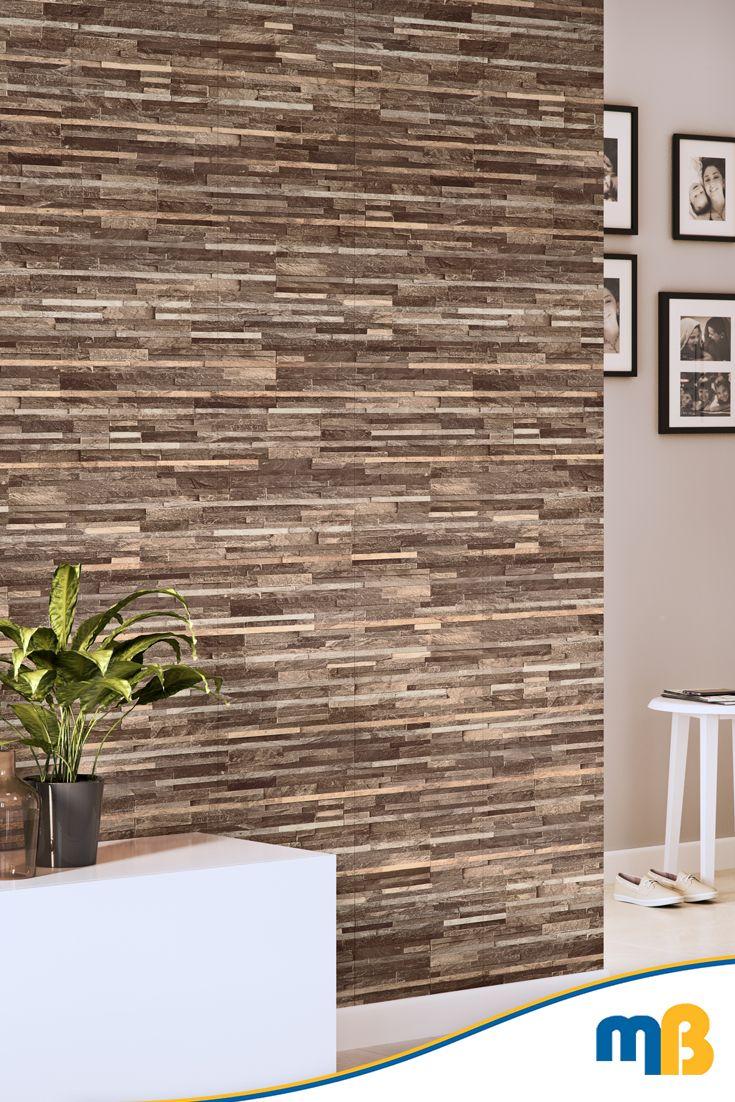Vilo Motivo Modern 3d Brown Slate 2650mm 4 Panels Per Pack Bathroom Wall Cladding Wall Cladding Panels Wall Cladding