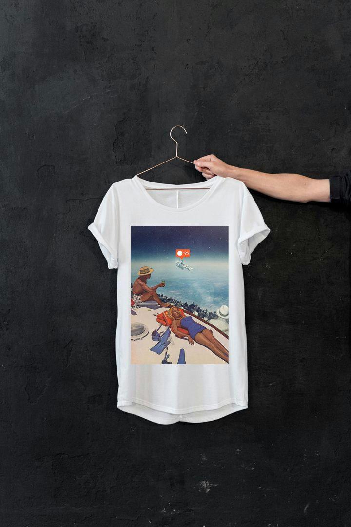 Camiseta galaxia instagrámica
