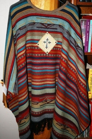 Wool Western Ponchos with embellishments of by micheleturney, $350.00                   OMG THIS IS ME!! :)