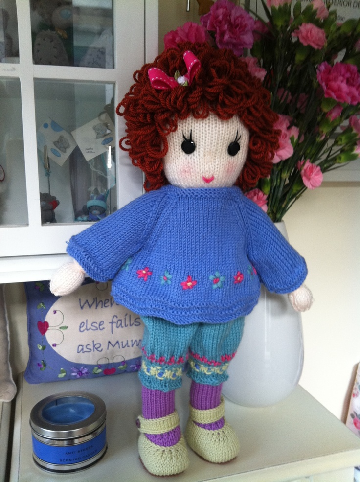 1000+ images about My hand knit dolls and teddy bears on ...