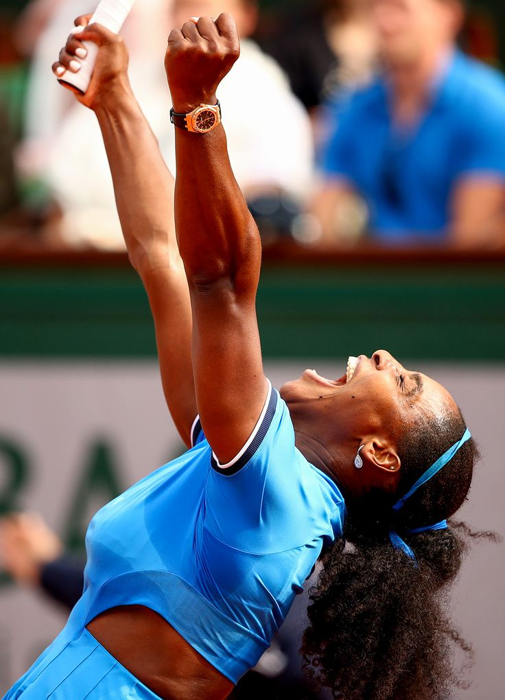Serena Williams : French Open 2016 photos