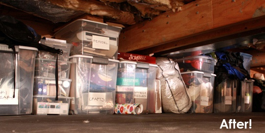 My crawl space makes my skin crawl: How to make the most of a crawl space