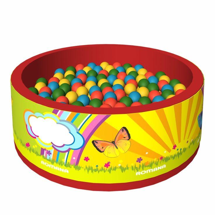 """Сухой бассейн с шариками """"Летняя сказка"""""""
