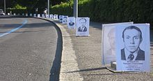 Deceased Liquidators' portraits used for an anti-nuclear power protest in Geneva.List of nuclear power accidents by country