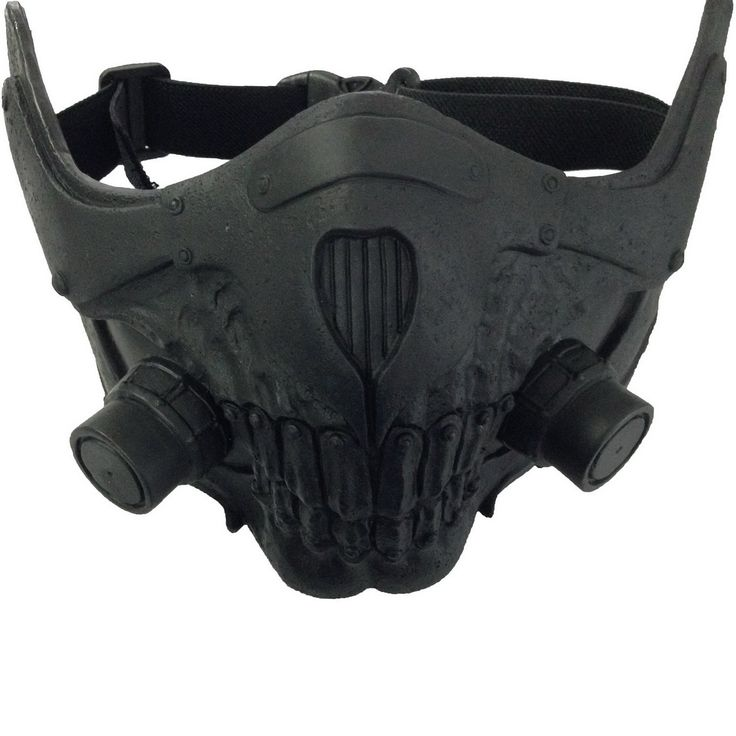 Amazon.com: Mad Joe Max Mask Cosplay Cool PVC Half Face Gas Mask Halloween Prop: Clothing