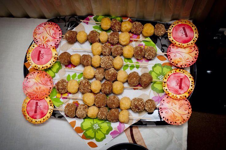 Sweet balls for a birthday girl :)