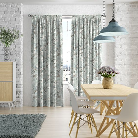 17 Best images about Curtains: Flower Power & Luscious Leaves on ...