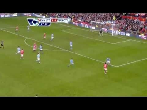 Wayne Rooney Overhead/Bicycle Kick Goal vs Man City