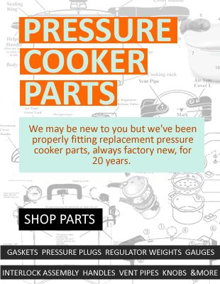 Search largest inventory of factory new pressure cooker / canner parts by model number. #replacementparts