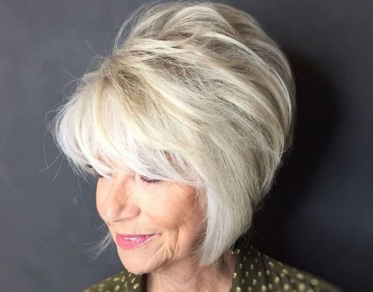 Hairstyles 2019 Female Over 50 With Bangs – All About Style …