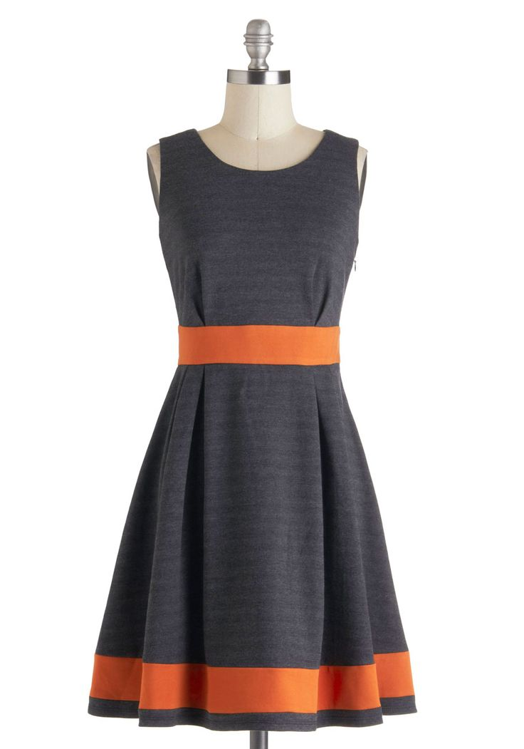 Beyond the Tea Time Dress -Colorblock Vintage Style