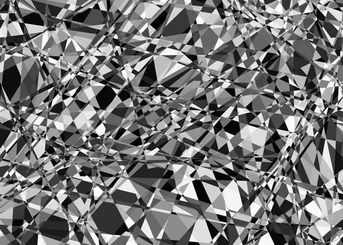 Frank Richter, exploding 5d-cube 03.0192/ 2001/ C-PRINT (generative art)