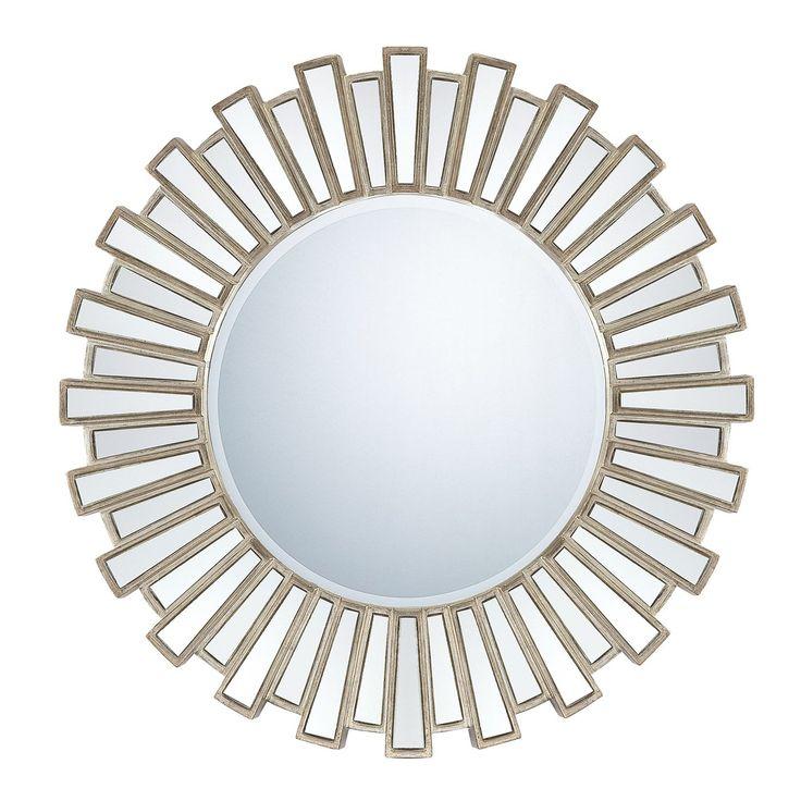Quoizel QR983 Round Decorative Mirror