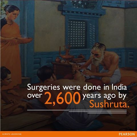 Did you know that Sushruta was the first Indian surgeon ...