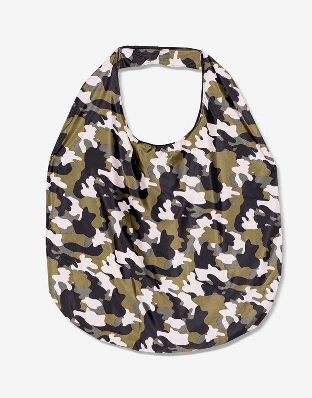 Sac camouflage réversible - Accessoires - Nouveautés - Femme - PULL&BEAR France
