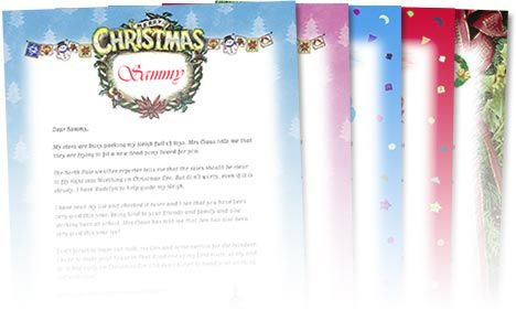 Free Personalized Letters from Santa: I love that there are 5 different formats and that you canpersonalizethem!