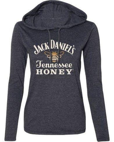 Jack Daniel's Women's Tennessee Honey Hooded Long Sleeve Shirt   Boot Barn