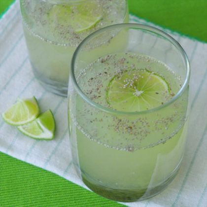 """Aztec """"superfood"""" high in fiber, protein and omega-3 fatty acids. Try this Chia limeade!"""