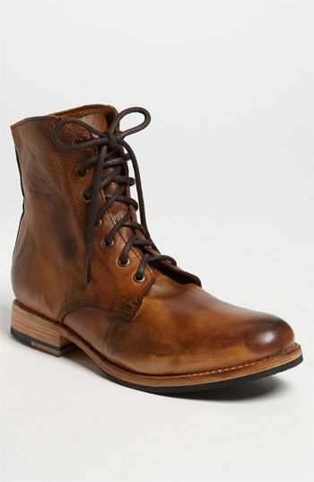 Rugged Boots Nick can wear with Jeans and a blazer and still be relaxed for him, but Hot for me:) #shoes #boots