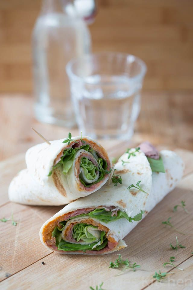 Rosbief/Roast beef wraps - Simone's Kitchen (recipe is in Dutch)