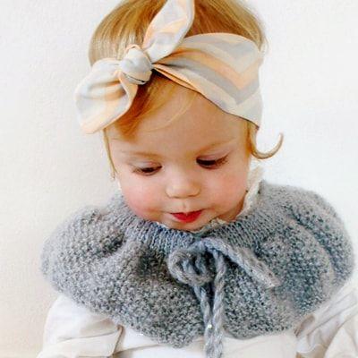 http://lillyandlace.com.au/product-category/topknot-baby-fabric-headbands-australia/ Peach grey soft baby organic cotton top knot head wrap headband