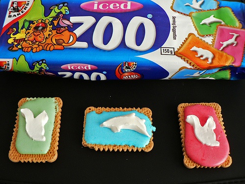 some people had animal crackers, we had zoo biscuits