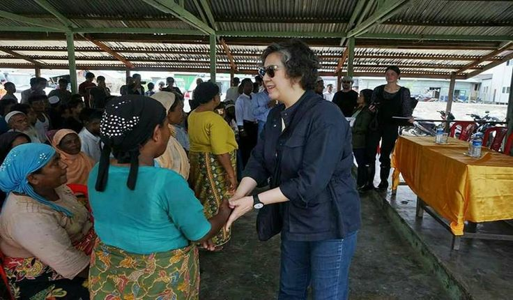 By The Stateless Sittwe: UN special rapporteur Ms Yanghee Lee is on her 6th Myanmar visit from the 9th to 21st of July 2017, the most persecuted Rohingya ethnic minority in the world hope for appro…