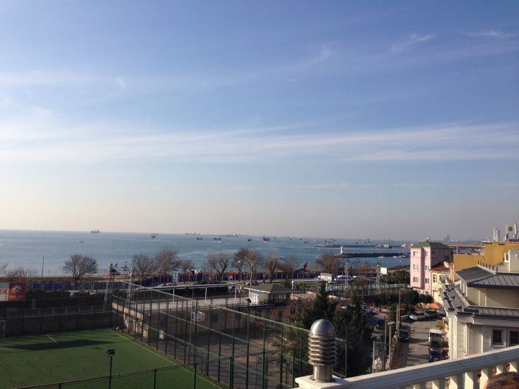Fantastic view from the terrace