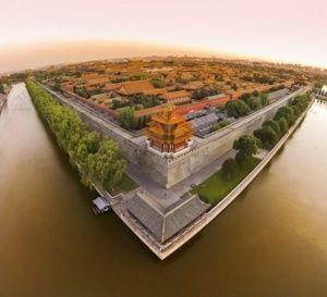 Pékin vu d'un drone: des photos rares et risquées
