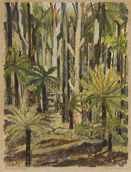 Margaret Preston - Fern trees
