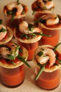 Shrimp Cocktail Shots