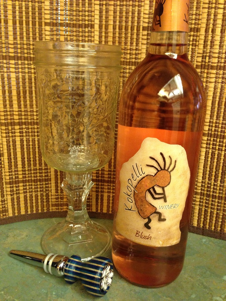Blush wine from kokopelli winery in chandler az blush