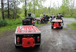 Motorcycle Campers, Motorcycle Cargo Trailers, Motorcycle Tent Trailers, Motorcycle Camping Trailers, Popup Camper, Small Car Campers, Motorcycle Trailer
