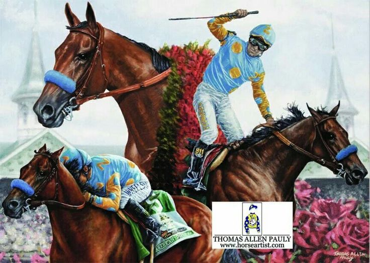 115 Best Images About Horse Racing Art On Pinterest