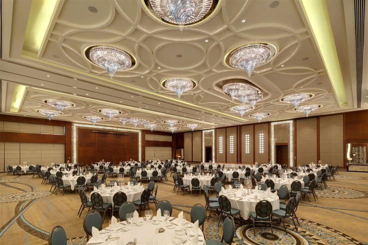 Hilton Hotel Bursa, Turkey. #conference #room #chandelier #lighting #design #event #meeting #bohemian #crystal