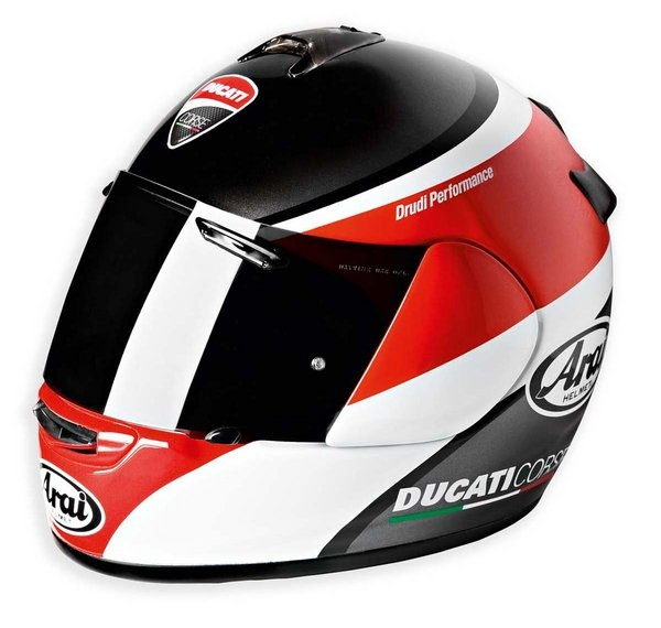 Think this is my first choice in Ducati Logo Helmets...