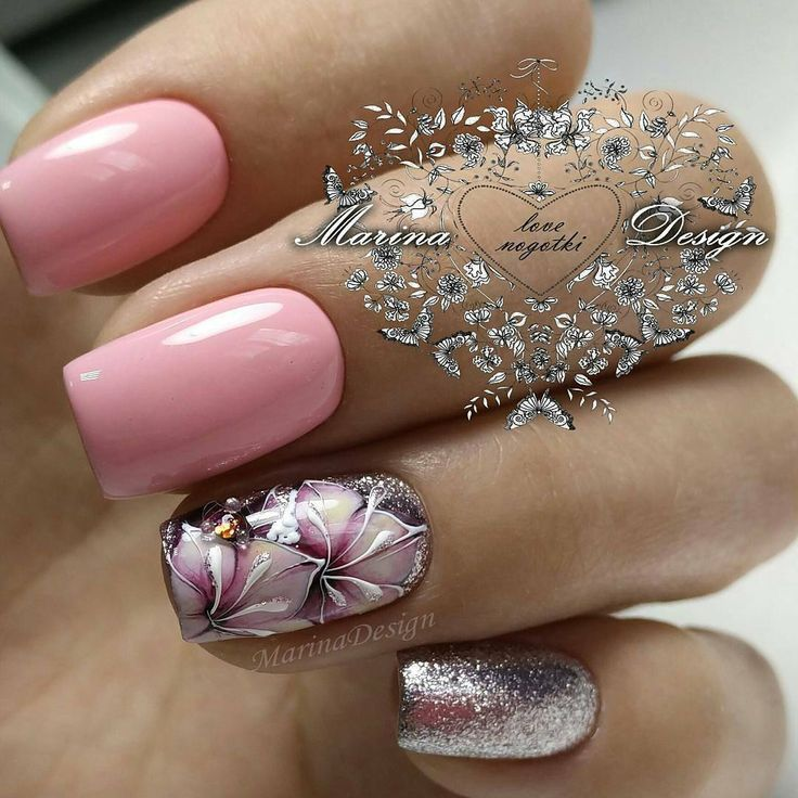 """269 Likes, 1 Comments - @best_manicure.ideas on Instagram: """"Автор @nail_marina_disign…"""""""