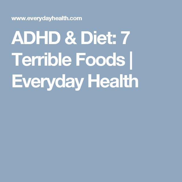ADHD & Diet: 7 Terrible Foods | Everyday Health