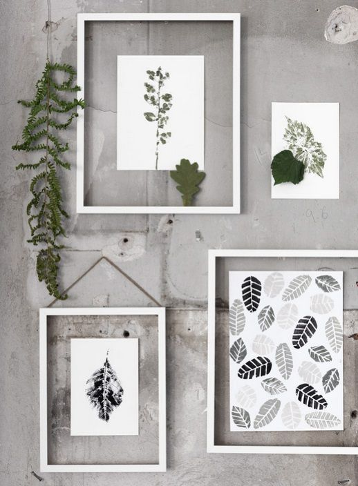 Interieurtrend groen in huis deco wall decoration and interiors - Deco modern huis ...