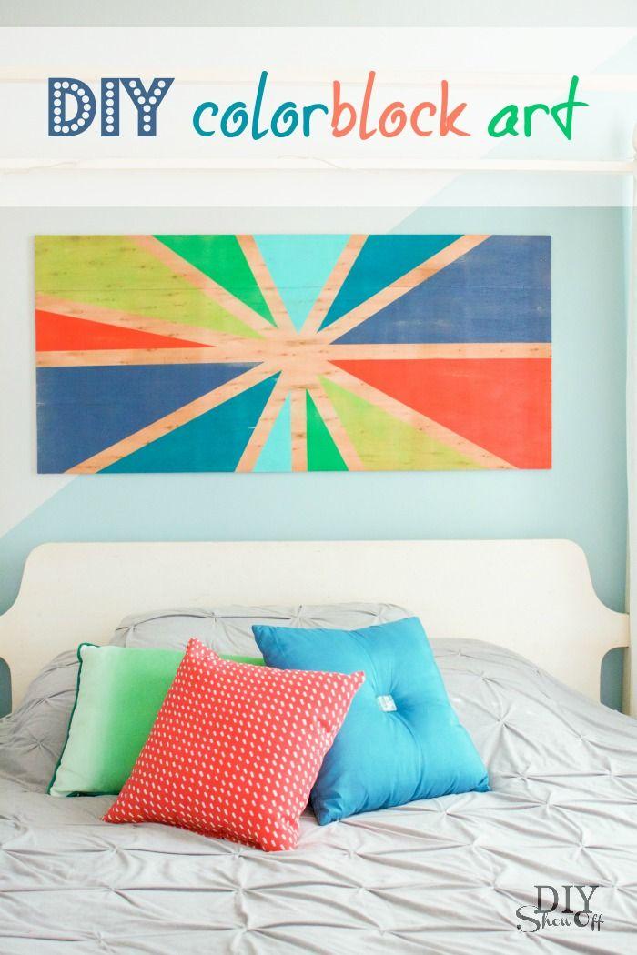 Colorblock Art